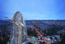 Michael Schumacher World Tower, Gurgaon India / Facade and Landscape Lighting Design