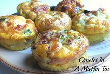 Ommelet muffins