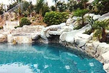 Amazing Swimming Pools / Beautiful Swimming Pools, Some with Mosiac.