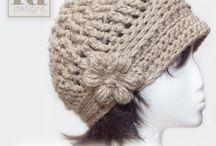 Вязаные шапки и шляпки