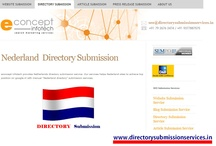 Dutch directory submission  / directorysubmissionservices.in offers Dutch website submission services.