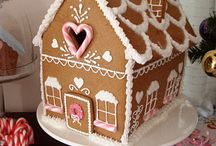 G I N G E R B R E A D H O U S E S / Gingerbread Houses are sweet, colorful and fun!  Decorating them is an art form and these are some of our favorite gingerbread creations!! / by NelleandLizzy.com