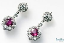 Precious Gem Earrings - Britton Diamonds / All of these stunning earrings are part of the Britton Diamonds Couture Collection. All centre diamonds are GIA or AGS certified. All diamonds are sourced in strict adherence with the code of ethics set by the Canadian Jewellers Association.