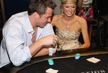 Celebrities Gamble / Photos of Actors, Singers and Celebrities gamble, play poker and casino games or betting on sports.