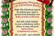 Merry Christmas To All / Merry Christmas To All My Pinterest Friends..... From Dwarka Gems Family...