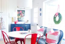 kitchen nooks / that cozy spot in your kitchen for breakfast or homework or art projects...