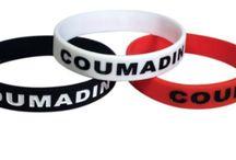 Coumadin Medical Alert Bracelet / Medical alert bracelets for people on the blood thinner coumadin.