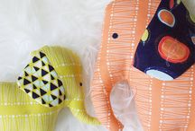 Sewing patterns for stuffed toys
