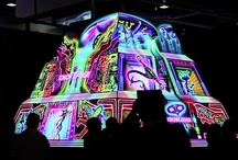3D Projection Mapping / Christie projection mapping Infocomm 2012