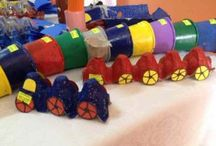 Train craft idea / This page has a lot of free Train craft idea for kids,parents and preschool teachers.