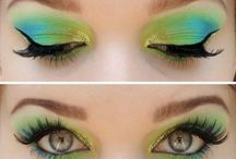 Makeup: eyes and eyebrows