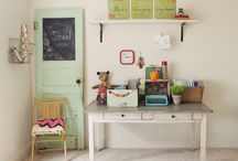 For the Home: Schoolroom / Schooling at home? Here you'll find inspiration for your HOMESCHOOL AREA whether it's a whole room or just a small nook.