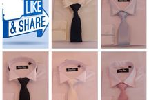 Tiny Tux dress shirts and ties for boys / Boys formal wear