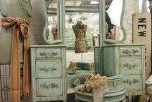 Antique Vanity / by Angie J