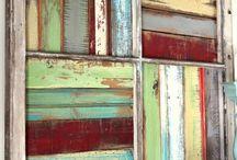 Wall Art - Reclaimed Wood