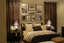 Bedroom / Looks I love for a master bedroom.