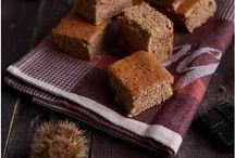 moelleux à la farine de châtaigne