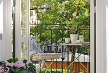 Balcony and garden / by Maija Nyman