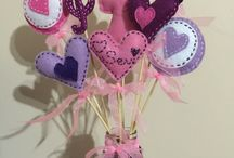 Hand made Felt bouquet by Nazlı / Hand made