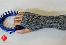 Loom Knitting // Tejiendo con telares
