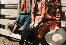 Vintage Cowgirls