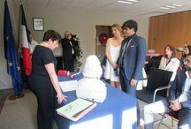 Mariages au Consulat général de France à Bruxelles / Retrouvez les photos des mariages célébrés au Consulat.