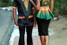 matching african print
