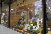 WOW Window Display 2015 / The Village Goldsmith is all aflutter about WOW!  The team have put together a window display inspired by Mother Nature, to celebrate The World of WearableArt Awards Show. Explore our garden of jewels!