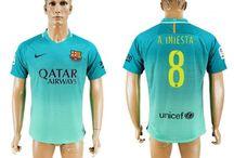 Billige Andres Iniesta trøje / Køb Andres Iniesta trøje 2016/17,Billige Andres Iniesta fodboldtrøjer,Andres Iniesta hjemmebanetrøje/udebanetrøje/3. trøje udsalg med navn.
