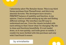 Happy Customers / Feedback & testimonials from WordPress theme customers