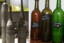 Glass Bottles / by Kerri Wolf