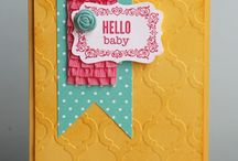 Baby Cards / Handmade baby cards