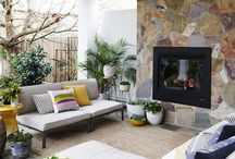 Outdoor Living Room / by Christiana Stergiou
