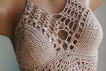 corpiños en crochet