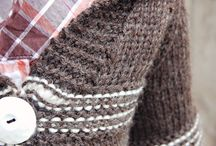 chaquetas  de punto en lana
