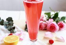 Mocktail Fruity Cranberry Raspberry