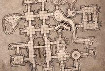 Kartor till rollspel / Kartor att använda till (till exempel) rollspel