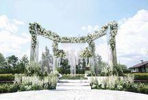 Свадебная арка / Креативные решения для оформления арки