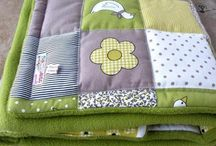 Babydecken Quilts