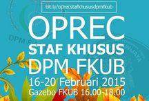 dare to be staff khusus DPM FKUB ^^