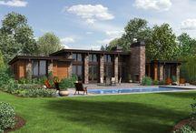 Mono-pitch Houses