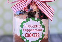Cookies no frasco