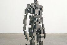 Significant sculptures / sculptures chosen by a Dutch artist