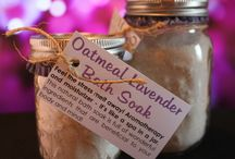 Beauty Products / Homemade and all-natural remedies, bath & beauty products.