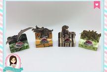 Festa Jurassic World / Festas Criativas e Personalizadas você encontra aqui. Procurando fofuras para a sua festa? Na nossa loja tem! http://loja.danifestas.com.br/