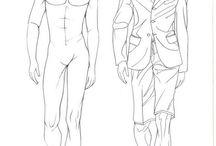 man fashion illustration
