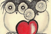 My love for OWLS!!! / I absolutely love love love OWLS!!