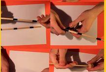 how to made a bow &arrow