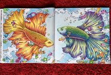 Amazing Adult Coloring Pages for Inspiration / Here's some amazing adult coloring pages from all over the web to get inspired!