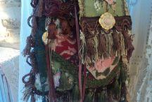 Boho/gypsy/shabby purses and bags